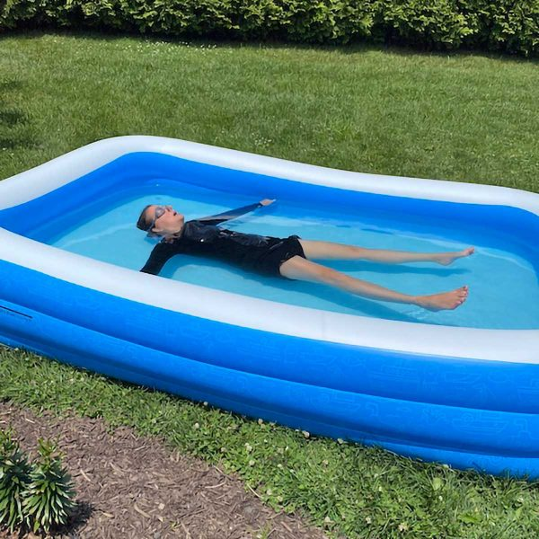 Kiddie Pool Back Float