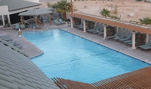 palm springs beginning course pool